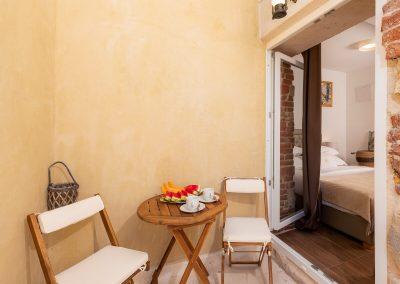 Hotel Agava in Babina - Deluxe Triple Rooms terrace