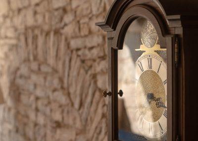 Hotel Agava in Babina - old clock