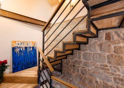 Hotel Agava in Babina - staircase